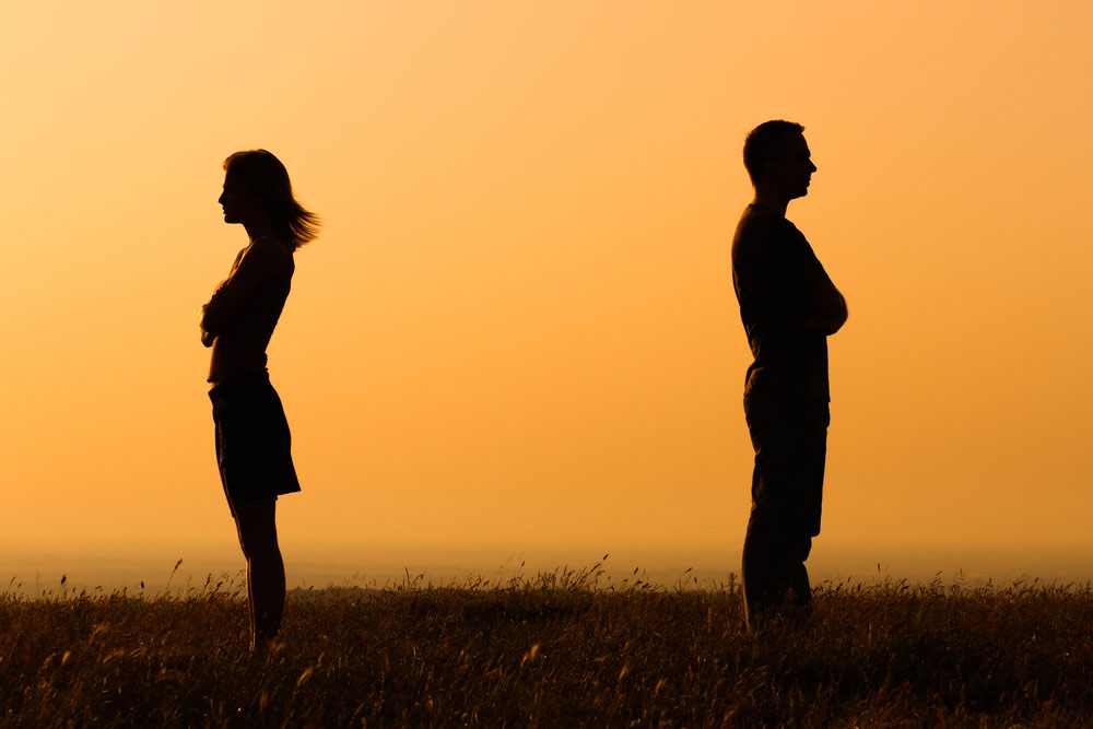 Image result for arguing couple silhouette